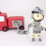 消防士との合コン・結婚