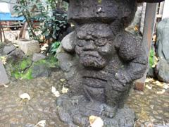 鬼王神社の水鉢