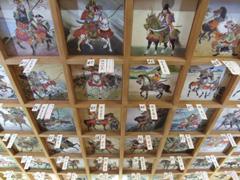 矢先稲荷神社の天井絵