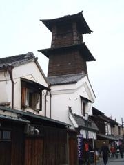 蔵の町並みと時の鐘