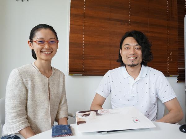 桑山裕史社長と市川由香カウンセラー
