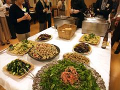 湯島食堂の精進料理ビュッフェ
