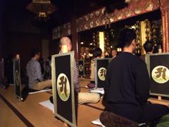 阿字観瞑想