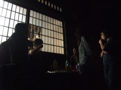 夜の懇親会