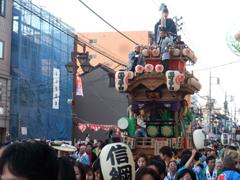 川越祭りの山車(信綱)