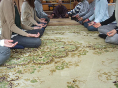 みんなで瞑想体験