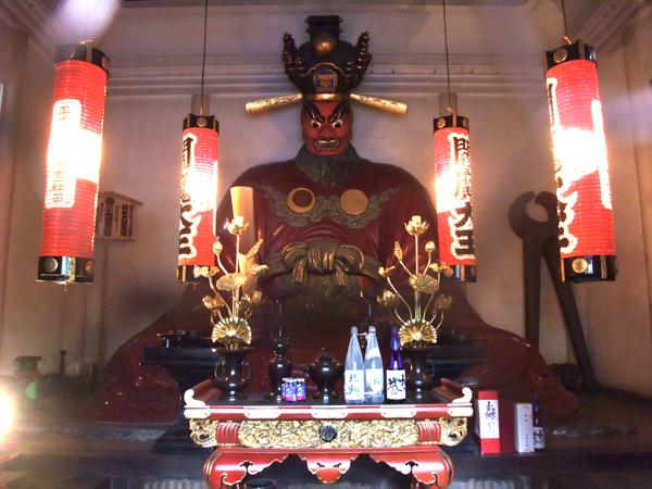 太宗寺の閻魔さま