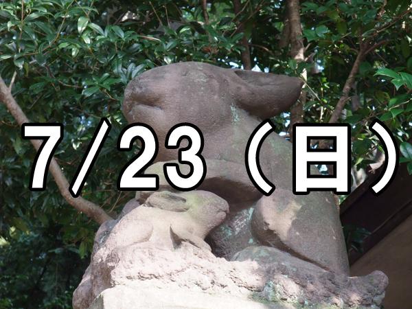 調神社とみこし渡御コン(埼玉)