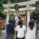 川越八幡宮茅の輪くぐりコン(埼玉)