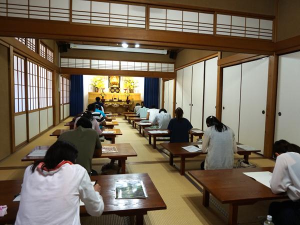 本光寺の写経