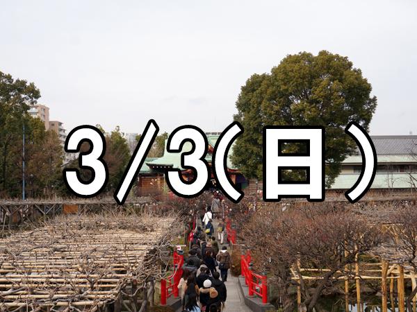 亀戸天神梅まつりコン(東京)